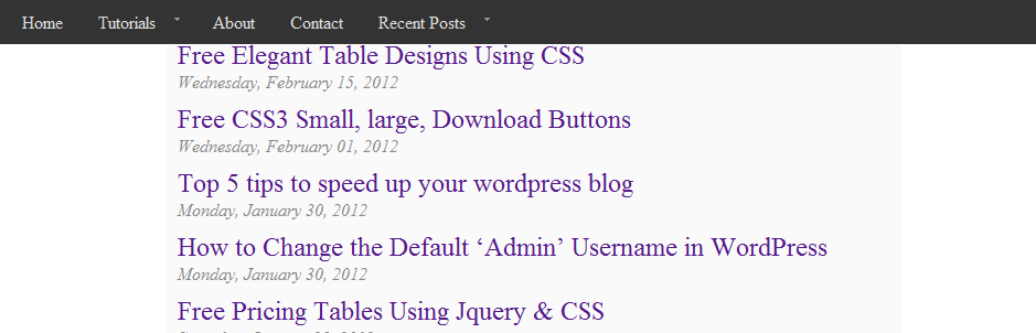 Fixed Top Navbar/Panel While Scrolling in CSS and Jquery