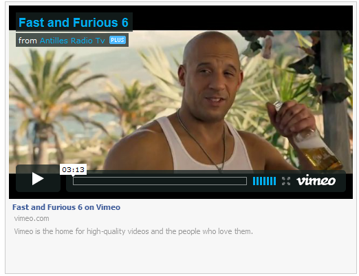 Facebook Style Vimeo Video  Expander
