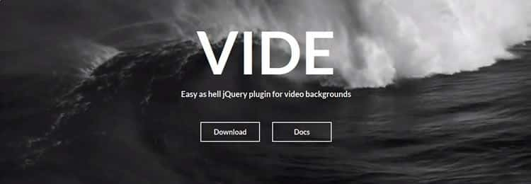 jQuery Background Video