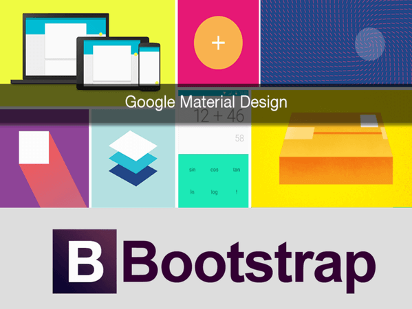 Bootstrap vs Google Material Design Lite